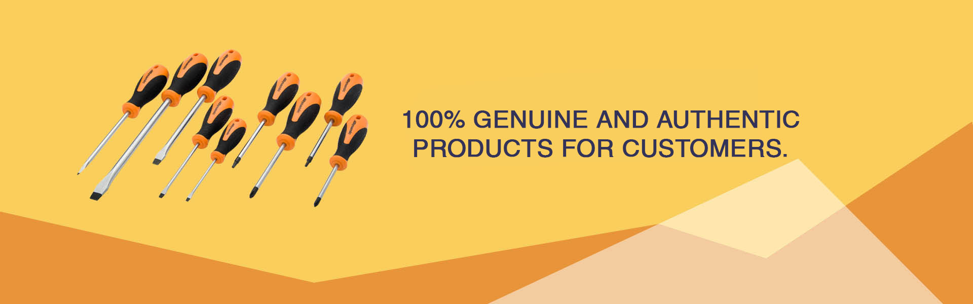 100% Genuine and Authentic Products for customers