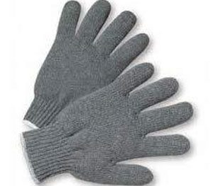 Knitted Grey 40 Gm Hand Gloves
