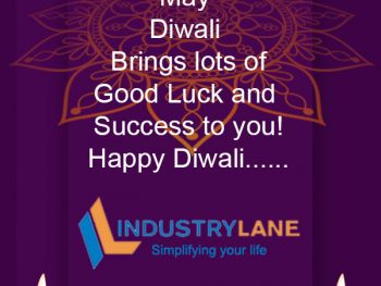 Have a blessed and Happy Diwali from Industrylane Solutions Pvt Ltd….